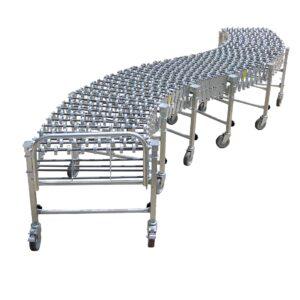 FMH Heavy Duty Flexible Gravity Conveyor