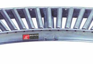 R Gravity Roach Light Duty Gravity Conveyor Curves