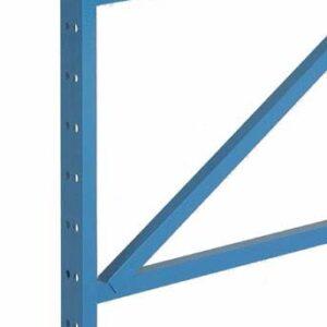 SKI Bolted Structural Pallet Rack Uprights