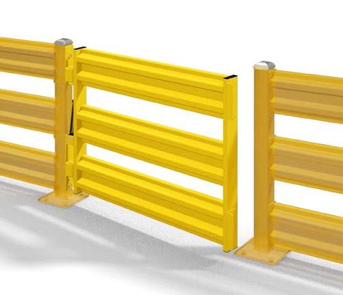 SKI Medium Duty Safety Gate
