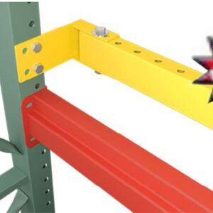 SKI Roll Formed Boltless Pallet Stop Beams